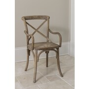 The Bella Collection Madison Solid Wood Dining Chair