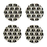 Shiraleah Elephant Coaster (Set of 4)