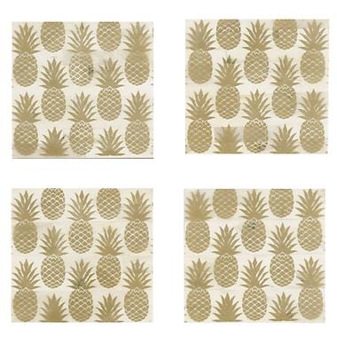 Shiraleah Pineapple Coaster (Set of 4)