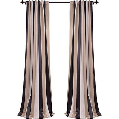 Half Price Drapes Georgetown Blackout Thermal Single Curtain Panel; 50'' W x 108'' L