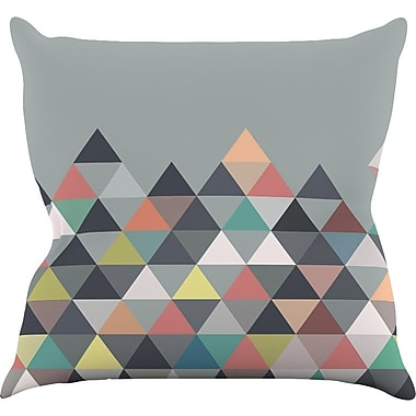KESS InHouse Nordic Combination by Mareike Boehmer Abstract Throw Pillow; 16'' H x 16'' W x 3'' D