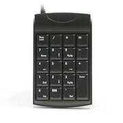 Unitech - Clavier 19 touches, interface USB, noir