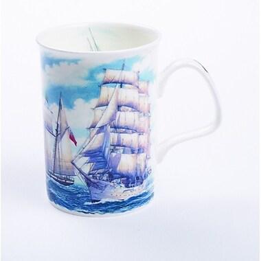Roy Kirkham – Ensemble de 6 tasses Lancaster, voilier