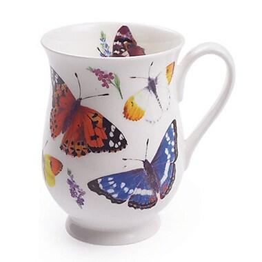 Roy Kirkham – Ensemble de 6 tasses Eleanor, modèle Papillon du jardin