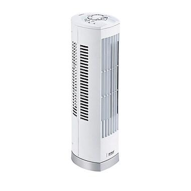 Seville Classics - Mini ventilateur en tour 17 po, blanc