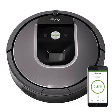 iRobot – Robot de nettoyage aspirateur Roomba® 960 (R960020)