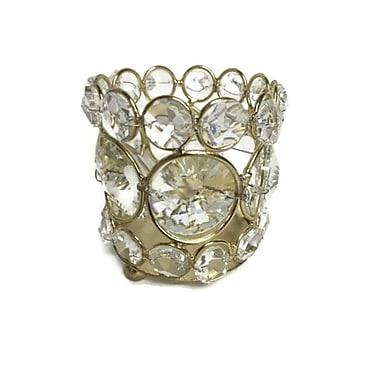 Elegance – Bougeoir étincelant pour lampions orné de cristaux