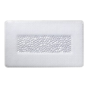 Popular Bath Products Bridgewater Rug Mat; Beige