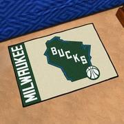 FANMATS NBA Milwaukee Bucks Starter Mat
