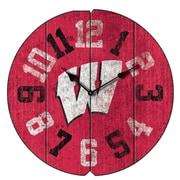Imperial NCAA 16'' Wall Clock; University Of Wisconsin