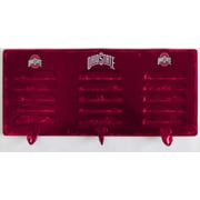 Imperial NCAA 3 Hook Metal Coat Rack; Ohio State
