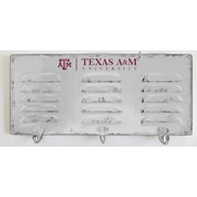Imperial NCAA 3 Hook Metal Coat Rack; Texas A & M