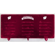 Imperial NCAA 3 Hook Metal Coat Rack; University Of Wisconsin