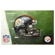 Imperial NFL Metal Painting; Pittsburgh Steelers Metal
