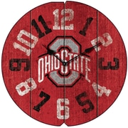 Imperial NCAA 16'' Wall Clock; Ohio State
