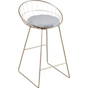 Statements by J Kylie 26'' Bar Stool w/ Cushion