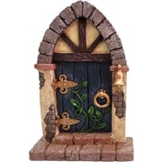 Hi-Line Gift Ltd. Fairy Mini Garden Door w/ Bell and Vines