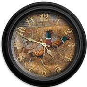 ReflectiveArt Fenceline Refuge 16'' Classic Wall Clock
