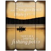ReflectiveArt Fishing Pole Graphic Art