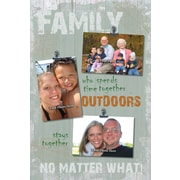 ReflectiveArt Family Outdoors Picture Frame