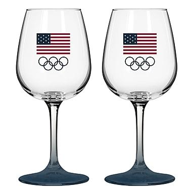 Boelter Brands Olympics 12 Oz. Wine Glass (Set of 2)
