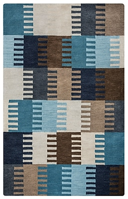 Rizzy Home Marianna Fields Collection 100% Wool 8'x10' Multi-Colored (MARMF945937890810)