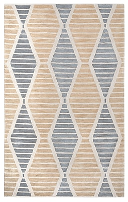 Rizzy Home Palmer Collection 100% Wool 8'x10' Beige (PALPA931700430810)