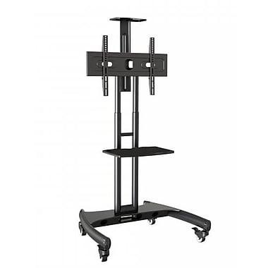 Rocelco – Chariot de téléviseur à écran plat standard VSTC, noir