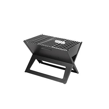 Fire Sense® HotSpot Notebook Charcoal Grill, Black
