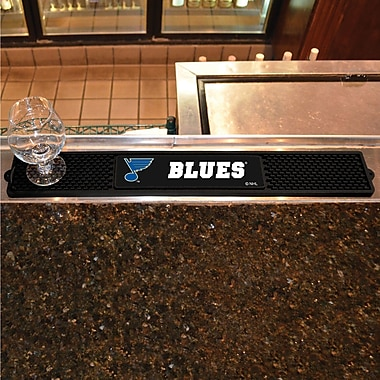 FANMATS NHL - Anaheim Ducks Drink Mat; St Louis Blues