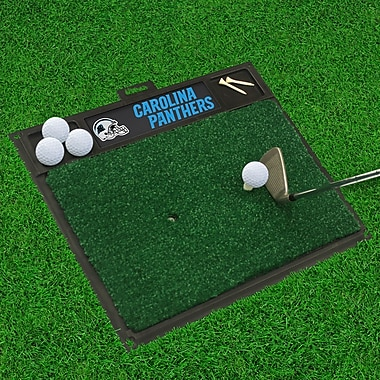FANMATS NFL - Golf Hitting Mat; Carolina Panthers