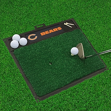 FANMATS NFL - Golf Hitting Mat; Chicago Bears