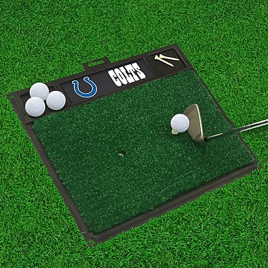 FANMATS NFL - Golf Hitting Mat; Indianapolis Colts