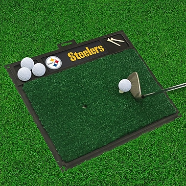 FANMATS NFL - Golf Hitting Mat; Pittsburgh Steelers