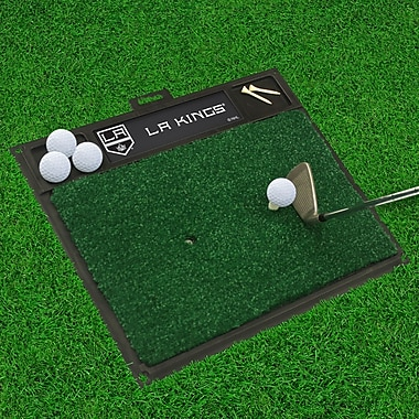 FANMATS NHL - Washington Capitals Golf Hitting Mat; Los Angeles Kings