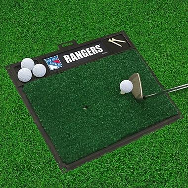FANMATS NHL - Washington Capitals Golf Hitting Doormat; New York Rangers