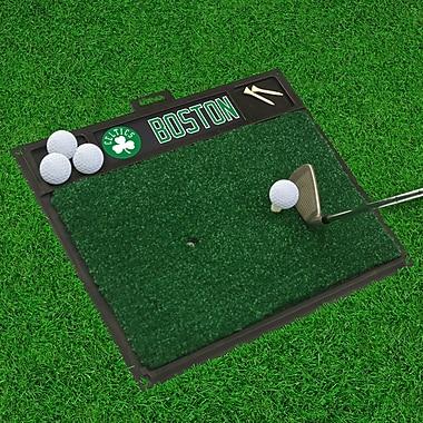 FANMATS Golf Hitting Mat; Boston Celtics