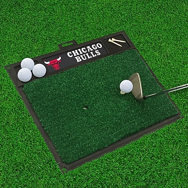 FANMATS Golf Hitting Mat; Chicago Bulls