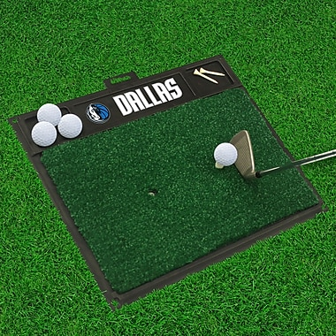 FANMATS Golf Hitting Mat; Dallas Mavericks