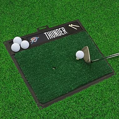 FANMATS Golf Hitting Mat; Oklahoma City Thunder
