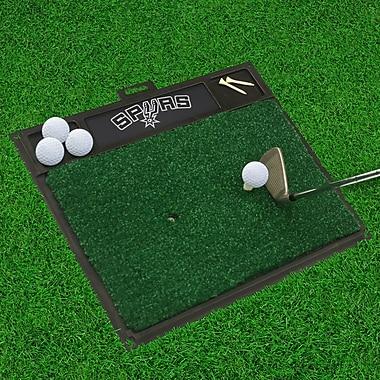 FANMATS Golf Hitting Mat; San Antonio Spurs