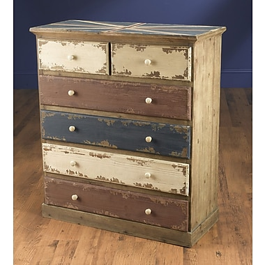 AA Importing Britania 6 Drawer Chest