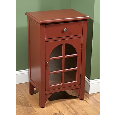 AA Importing 1 Door End Table