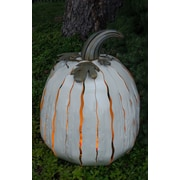 Desert Steel XL White Pumpkin Luminary