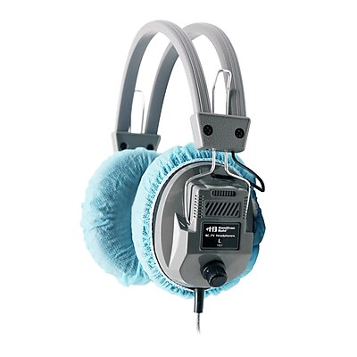 Hamilton Buhl™ HygenXCP45 Disposable Ear Cushion Cover for Over-Ear Headphones/Headsets, 4.5