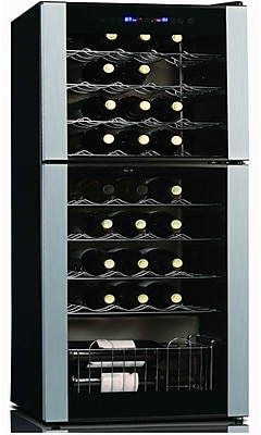 Koolatron 45 Bottle Dual Zone Freestanding Wine Cooler