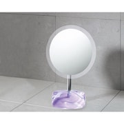 Gedy by Nameeks Twist Makeup Mirror; Lilac