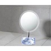 Gedy by Nameeks Twist Makeup Mirror; Silver