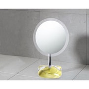 Gedy by Nameeks Twist Makeup Mirror; Avocado Green