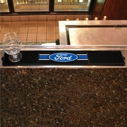 FANMATS Ford - Ford Oval w/ Stripes Drink Mat